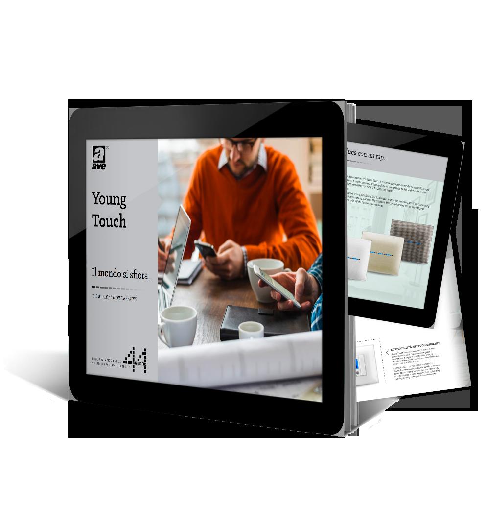 Brochure Young Touch – Il mondo si sfiora