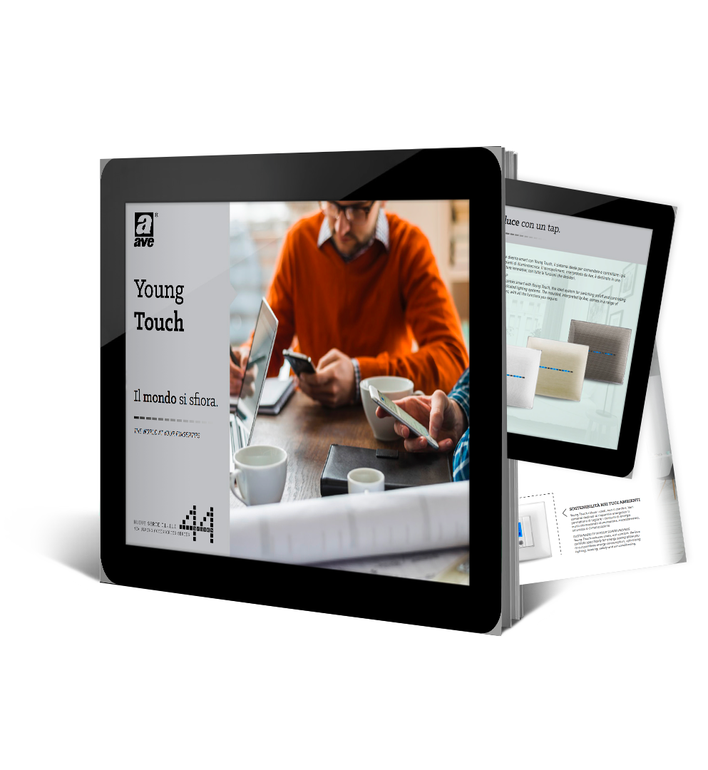 Brochure Young Touch - The world at your fingertips