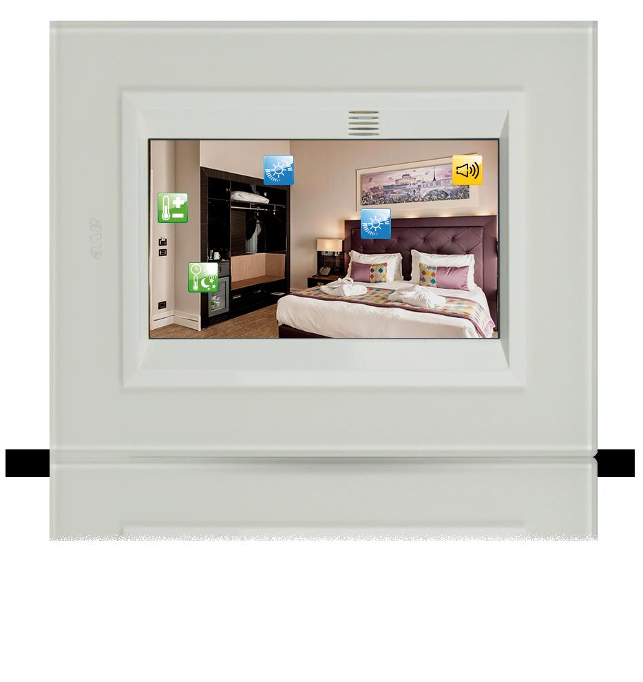 Gestione scenari - Domotica Hotel