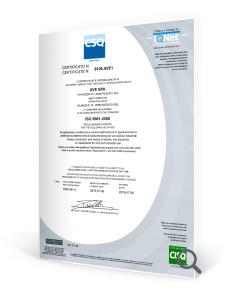 Certificato csq 2015