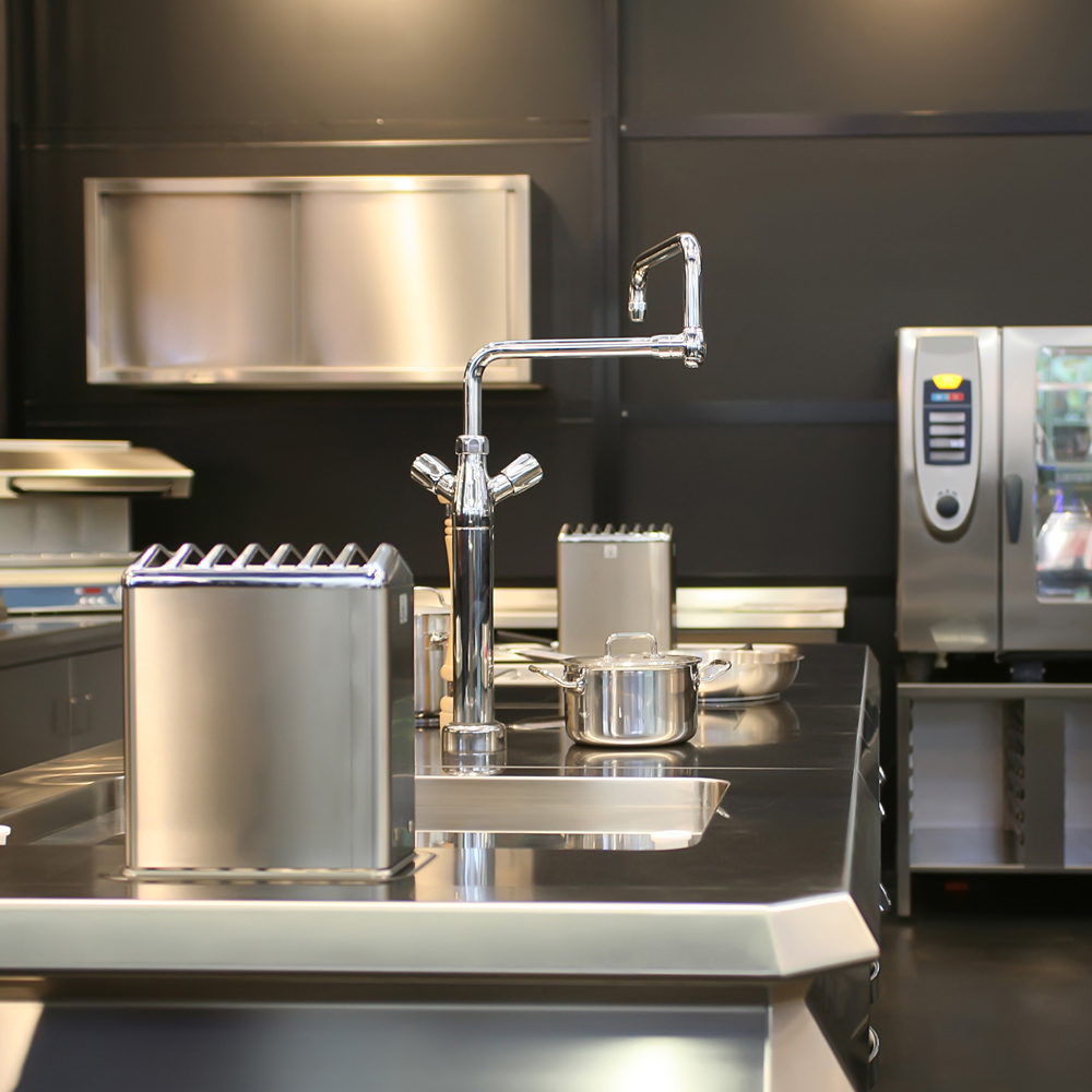 cucina e locali tecnici - Domotica hotel