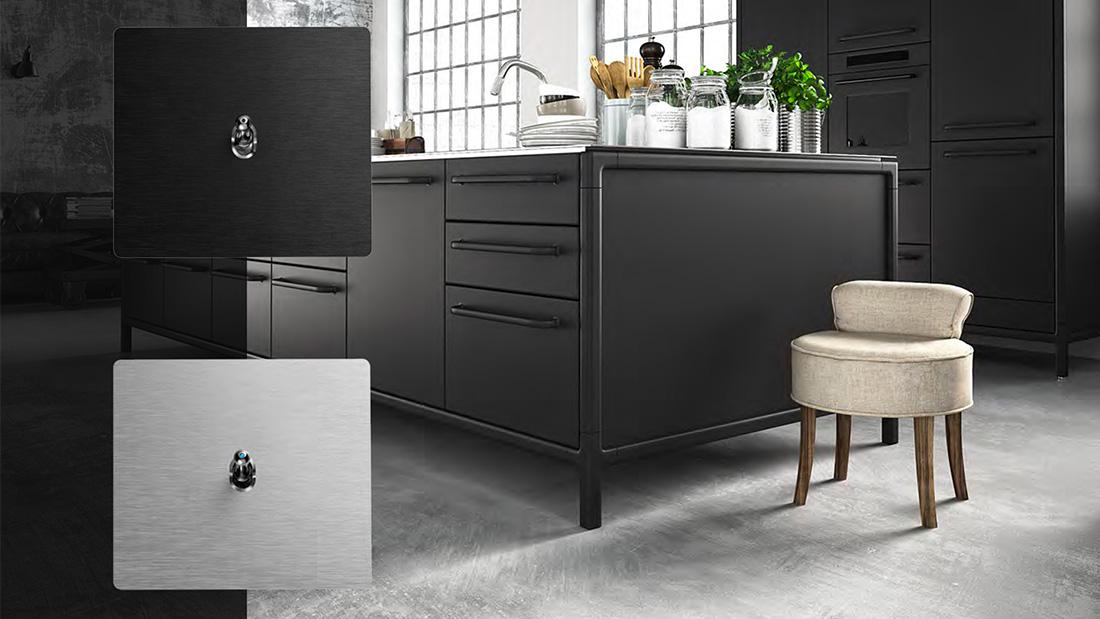 New Style 44, l'eleganza tecnologica dell'alluminio