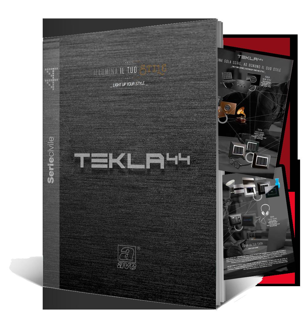 Poster TEKLA 44 - Una sola serie, ad ognuno il suo stile
