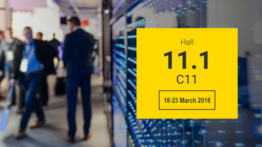 AVE hotel automation at Light+Building Fair of Frankfurt
