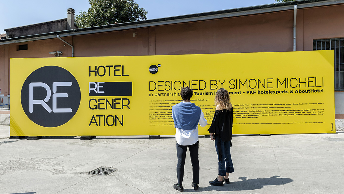 Hotel Regeneration: great success for AVE at the contract event of Simone Micheli
