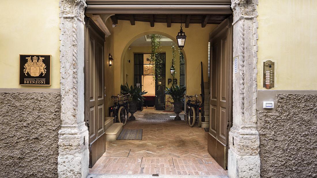 Palazzo Brenzoni, da edificio medievale a residence innovativo grazie alla domotica AVE