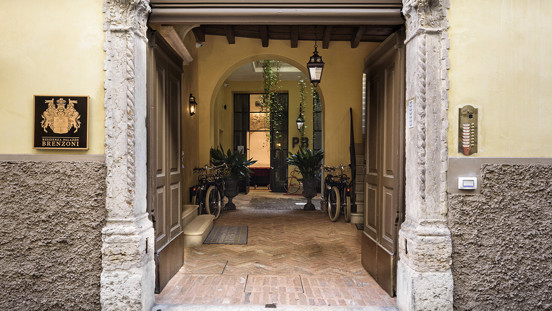 Palazzo Brenzoni, from medieval building to innovative residence thanks to AVE hotel automation